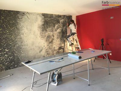 Tapete, Tapezierarbeiten, Mustertapete, Fototapte, Farbnuance GmbH, Maler, Malerfirma