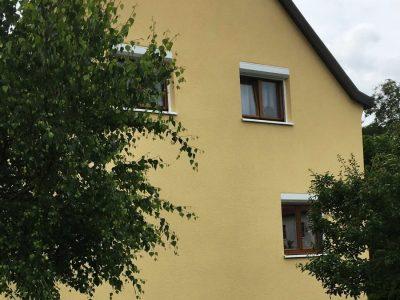 Fassadenbeschichtung, Fassade, Fassadenanstrich, Keimfarben,Farbnuance, Malerarbeiten,Dresden 1