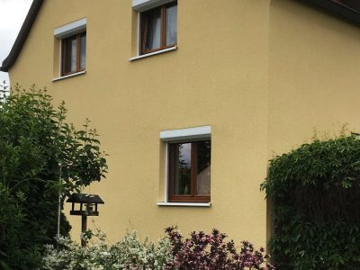 Fassadenbeschichtung, Fassade, Fassadenanstrich, Keimfarben,Farbnuance, Malerarbeiten,Dresden 2