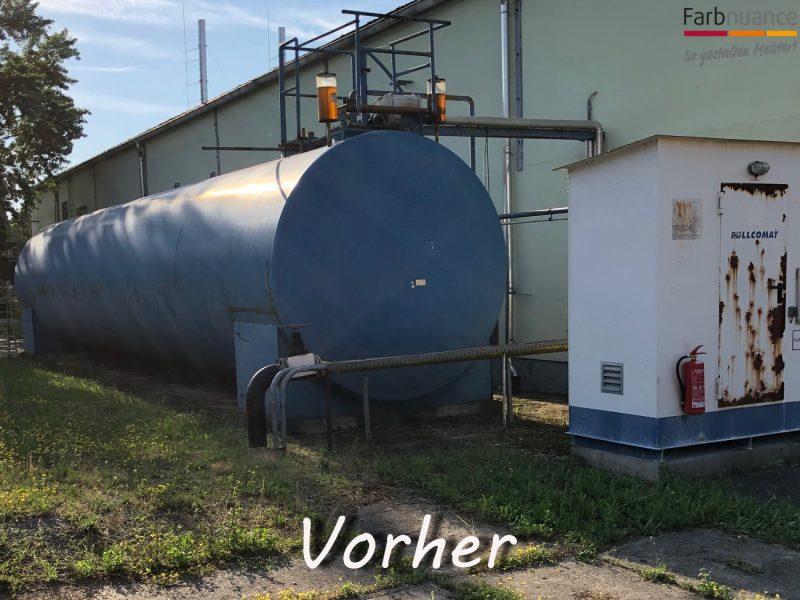 Tankbeschichtung, Metallschutz, Metallschutzlack, Korrosionsschutz, Farbnuance, Pirna , Stadtwerke, Dresden, 2