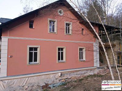 Fassade,Maler,Fassadenarbeiten,Nauanstrich,Renovierung,Malerarbeiten,Malerbetrieb,Farbnuance,Pirna,Heidenau,Dresden,Bautzen