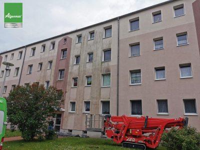Görlitz, Fassadenwäsche, Fassadenreinigung, Malerarbeiten, Algenmax, Farbnuance, Renovierung, Fassade