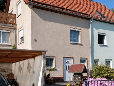 Königstein, Malerarbeiten, Fassade, Maler, Renovierung, Aussenanstrich, Doppelhaushälfte, Farbnuance-2