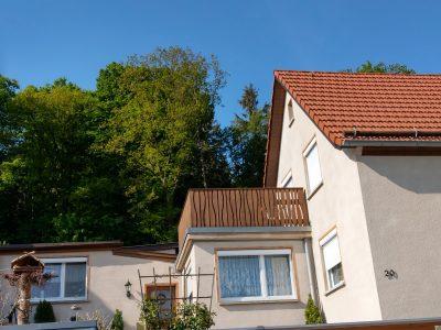 Königstein, Malerarbeiten, Fassade, Maler, Renovierung, Aussenanstrich, Doppelhaushälfte, Farbnuance