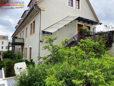 Laurisch Hof, Pirna, Malerarbeiten, Fassade, Maler, Renovierung, Außenanstrich,Hotel, Farbnuance -2