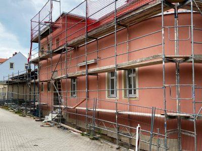 Erbgericht Kreischa, Malerarbeiten,Maler, Anstrich, Renovierung, Farbnuance, Osmo, historischer Anstrich, Holzbalken, Wandanstrich, Deckenanstrich-9