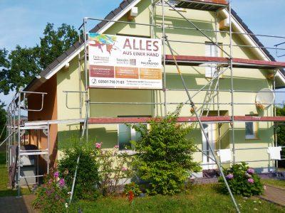 Friedrichswalde, Maler, Malerfirma, Fassade, Fassadenanstrich, Farbnuance, Anstrich, Renovierung,