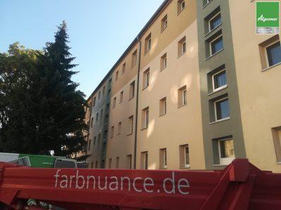 Leipzig, Fassadenwäsche, Fassadenreinigung, Fassade, Algenmax, Fassadenwäscher, Farbnuance, Algenfrei, Maler -2