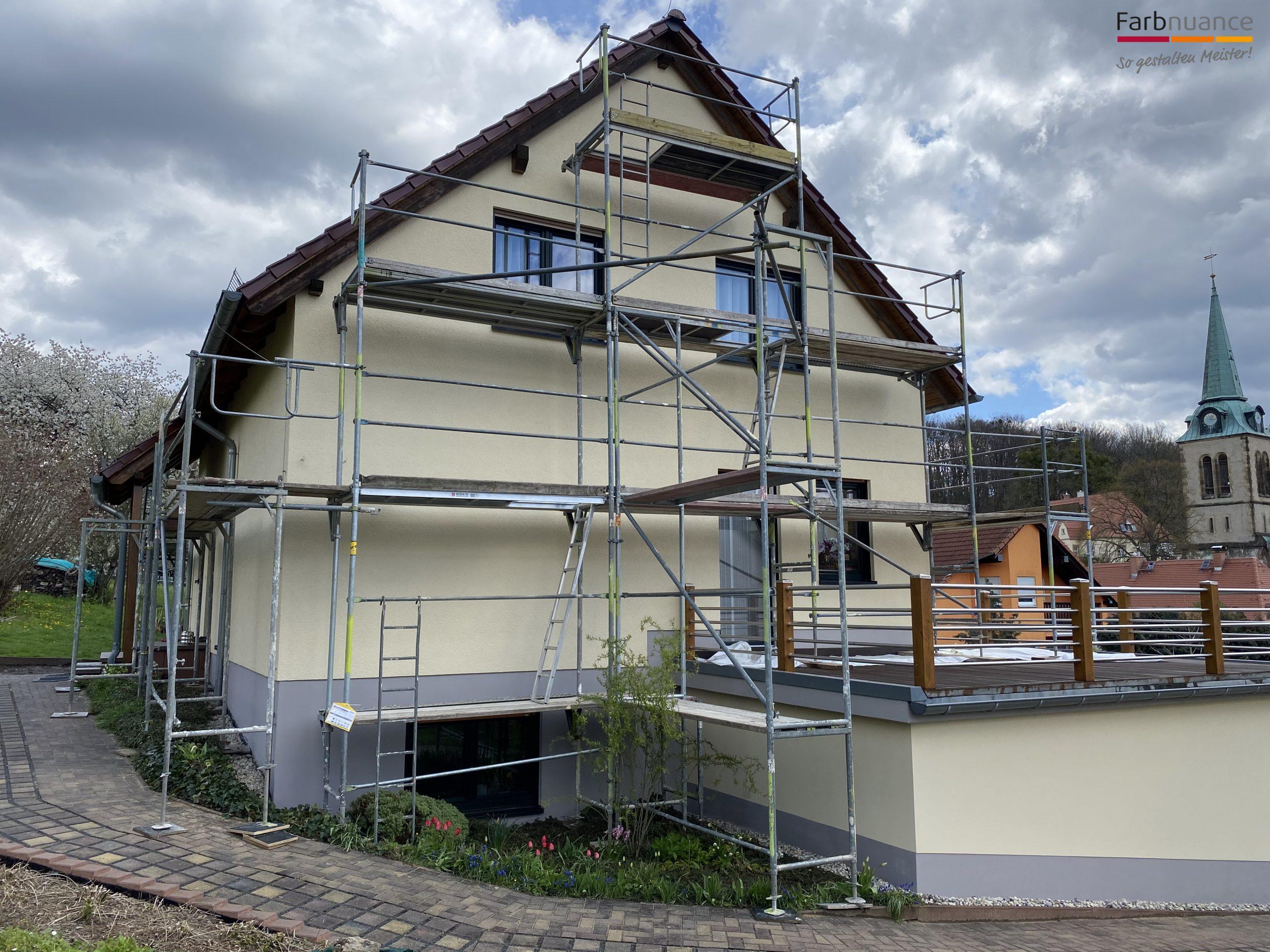Friedrichswalde, Farbnuance, Maler, Malerarbeiten, Fassade, Fassadenanstrich, Mehrfamilienhaus, Anstrich, Renovierung, Malerfirma (2)